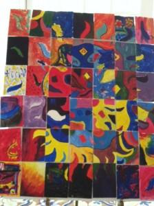 Collaborative art 2013
